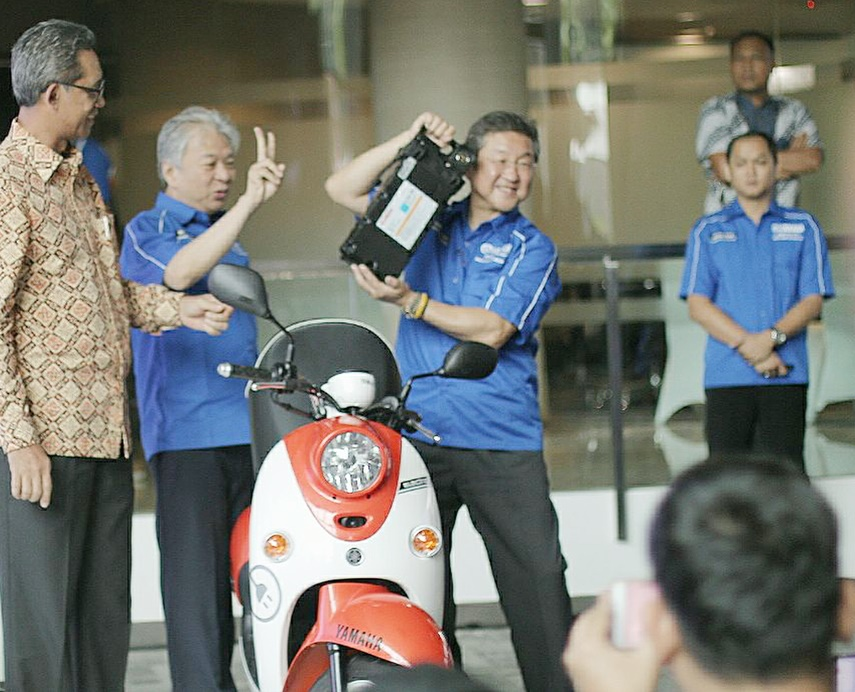 Motor Listrik Yamaha e-Vino