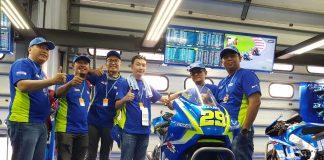 Nonton MotoGP Live di Sepang Bareng Suzuki