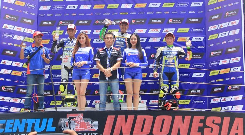 Result Yamaha Sunday Race 2017 Seri 4 - Sport 150cc PRO 01