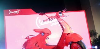 Vespa 946 Red Indonesia