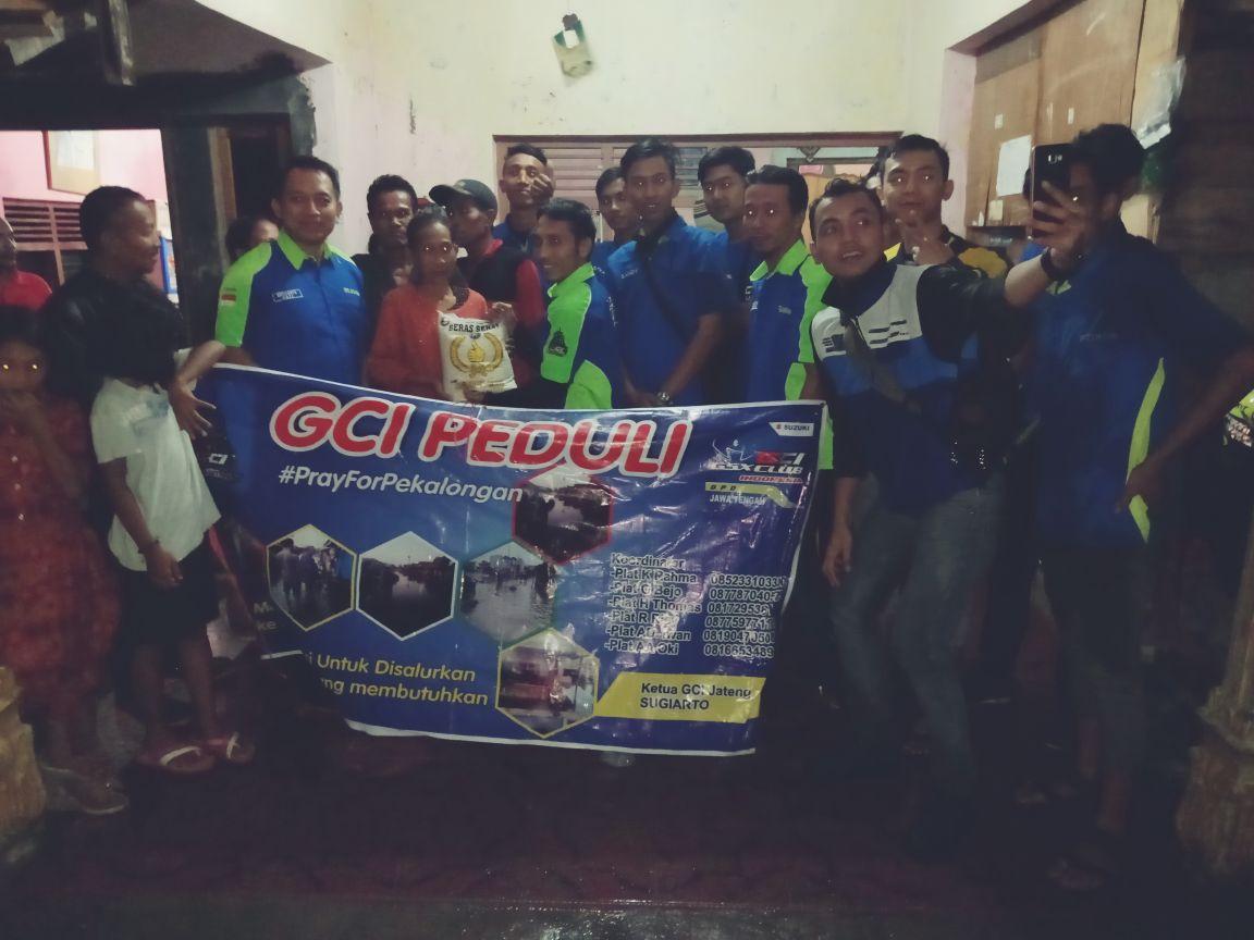 Baksos Komunitas Suzukii GSX Club Indonesia