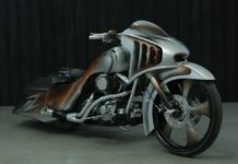 Modifikasi Harley Davidson Road King