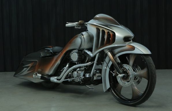 Modifikasi Harley Davidson Road King