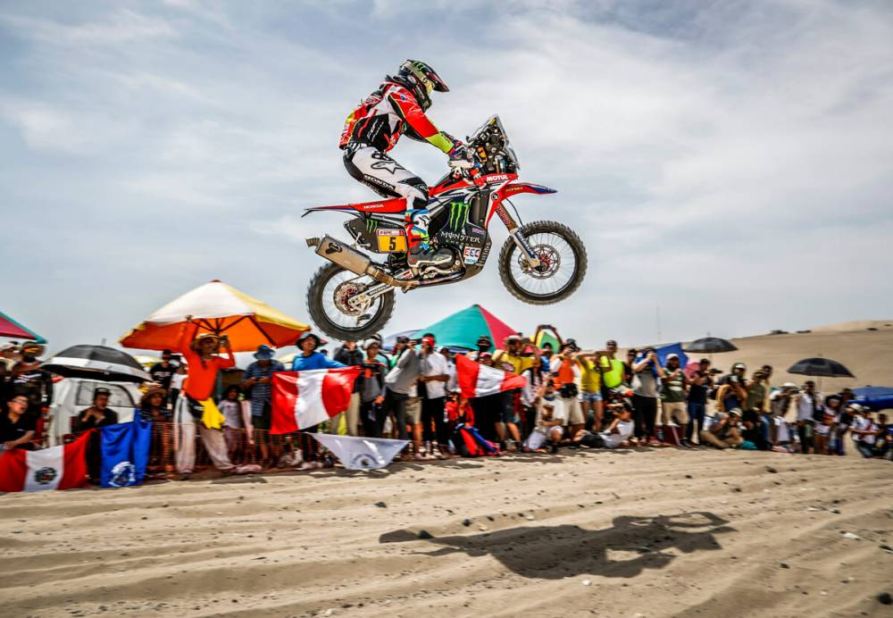 melihat perjuangan bikers dakar rally 2018 hadapi medan ekstrem gilamotor. Black Bedroom Furniture Sets. Home Design Ideas