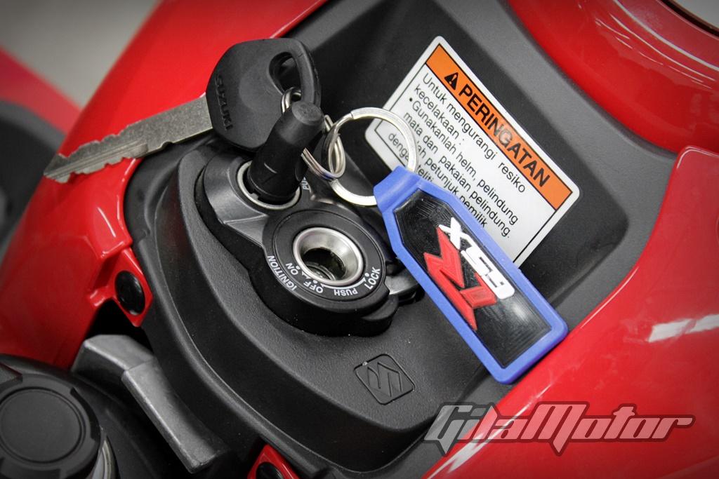 Suzuki GSX-R150 Shuttered Key System