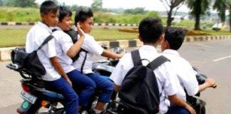 Pelajar Dilarang Bawa Motor