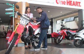 Penjualan Honda CRF150L