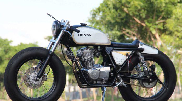 Honda Mega Pro Cafe Racer