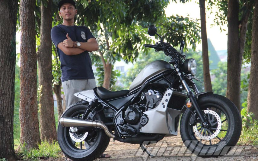 Modifikasi Honda Rebel 1