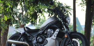 Modifikasi Honda Rebel