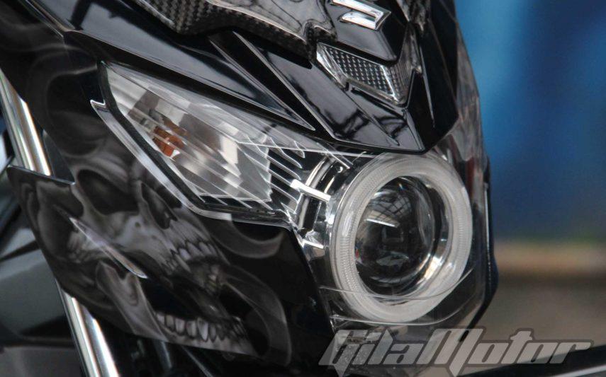 Modifikasi Suzuki Satria F150 Black Predator 1