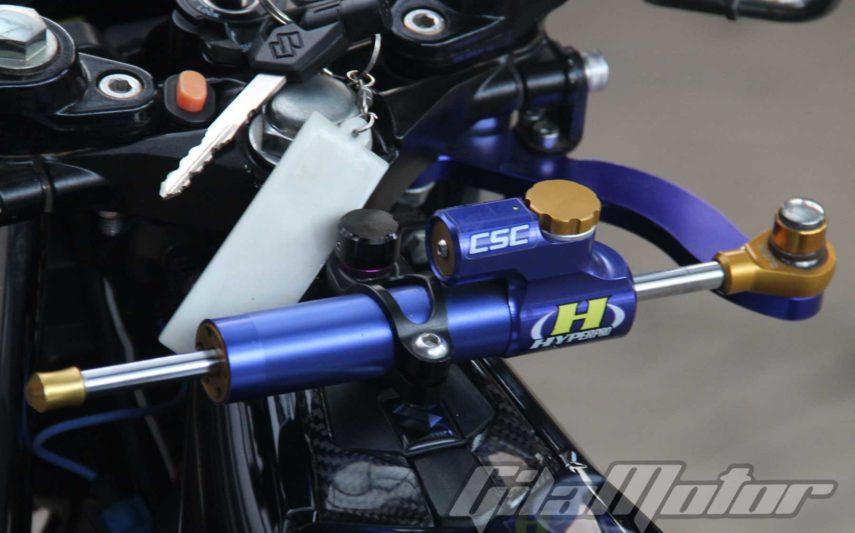 Modifikasi Suzuki Satria F150 Black Predator 3
