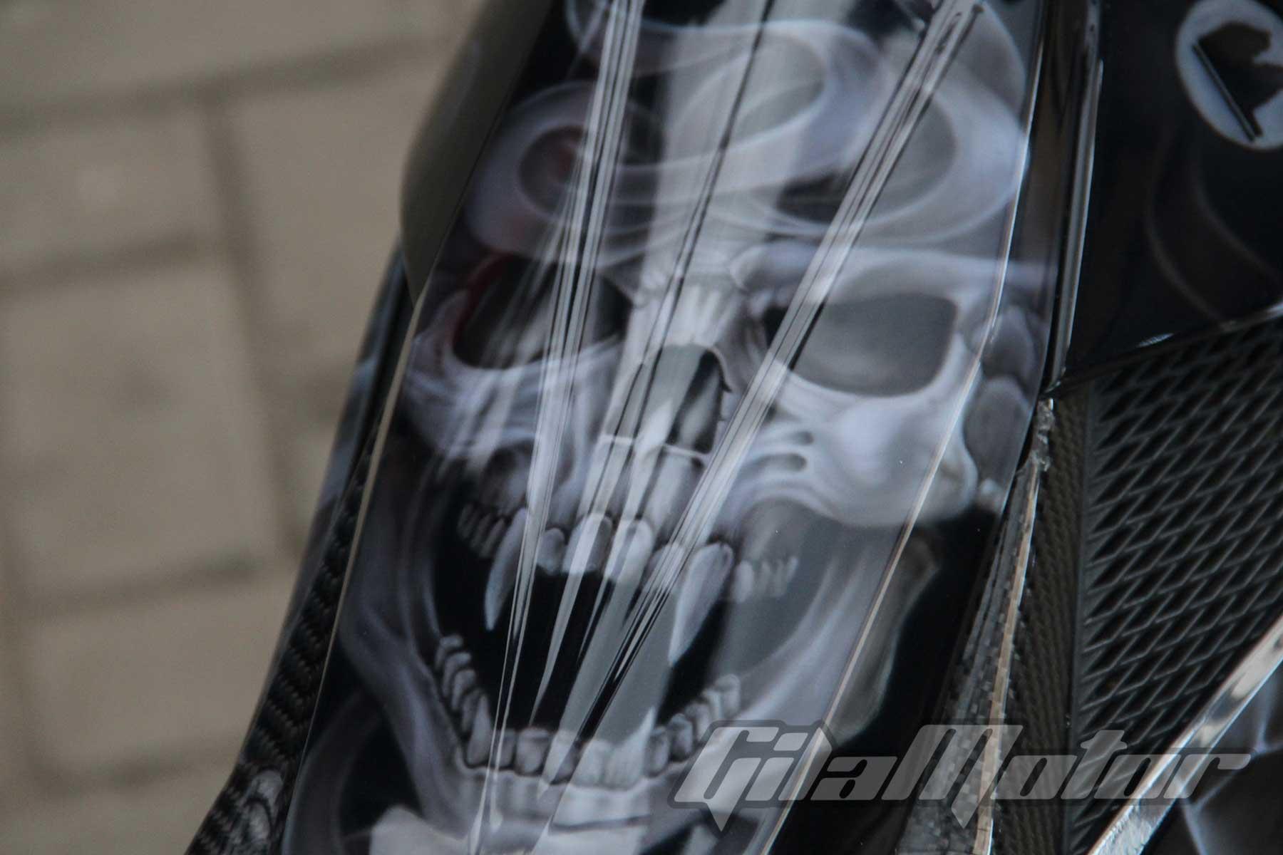 Modifikasi Suzuki Satria F150 Black Predator 4