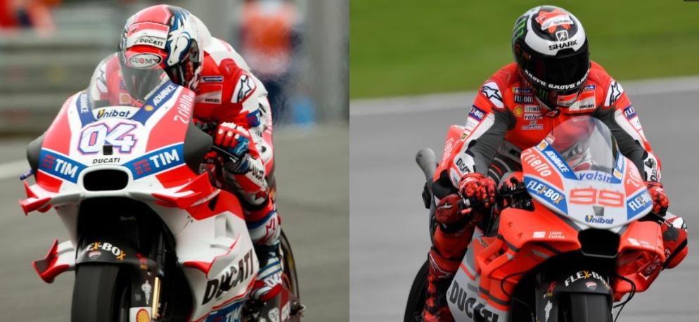 Perbedaan Aero Fairing dan Wing MotoGP