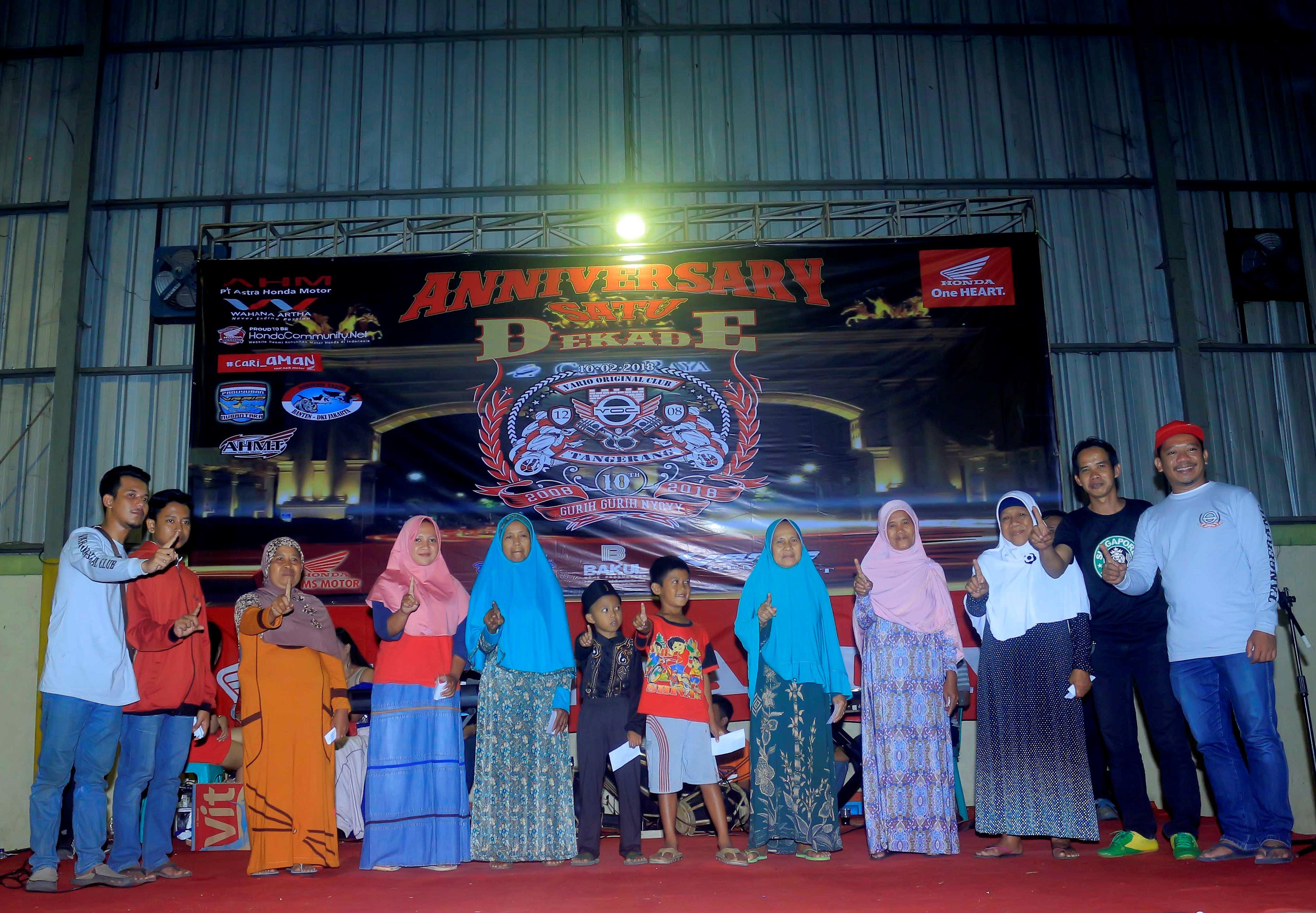 Vario Tangerang 1 Dekade