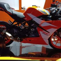 KTM RC 250 SE Side Muffler