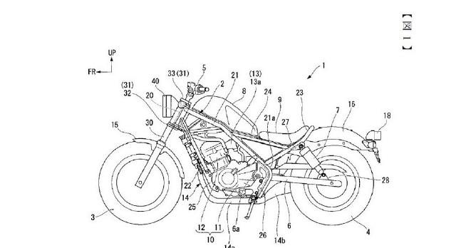 Honda Rebel 1000 cc