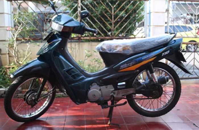 Motor bekas 3 jutaan - Suzuki Shogun