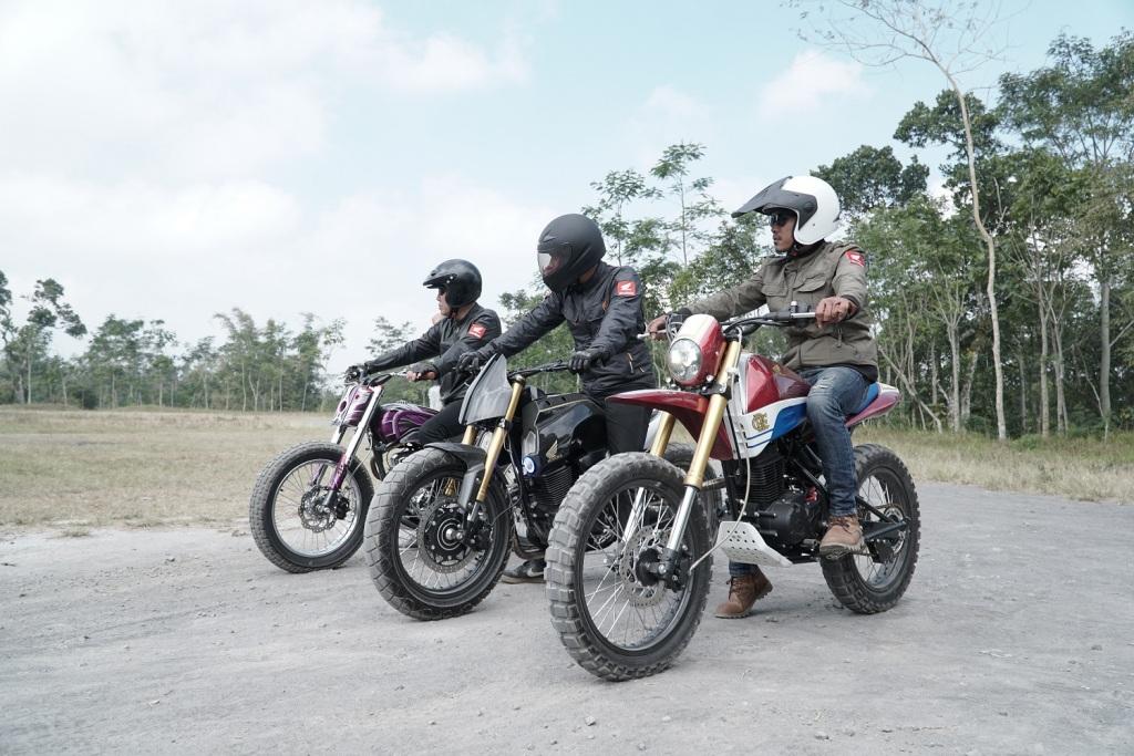 Modifikasi Honda CRF150L