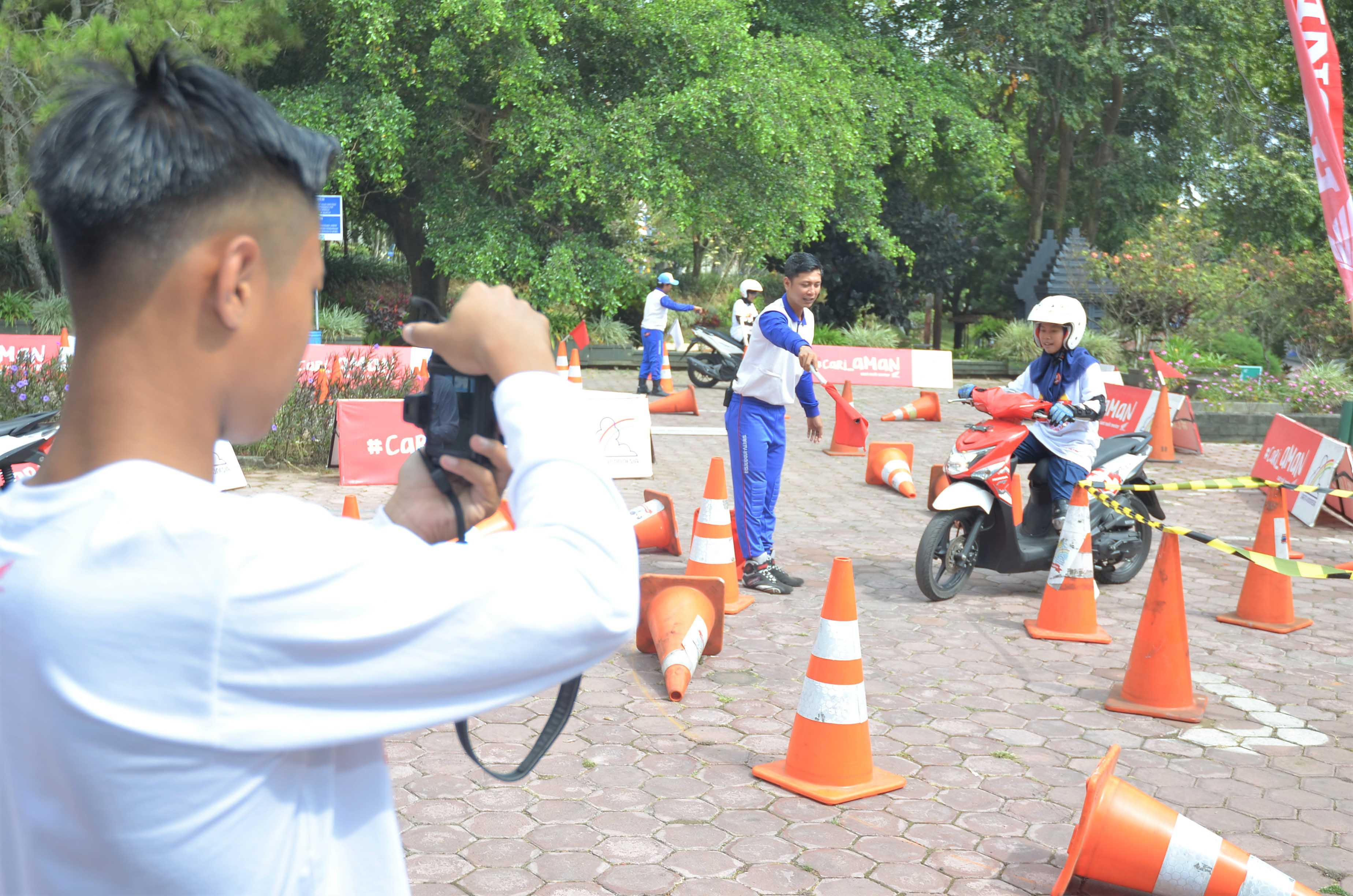 AHM Safety Riding Camp.