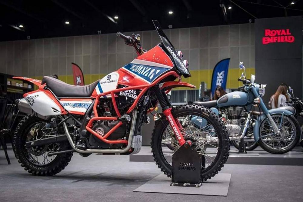Royal enfield himalaya edition rally dakar