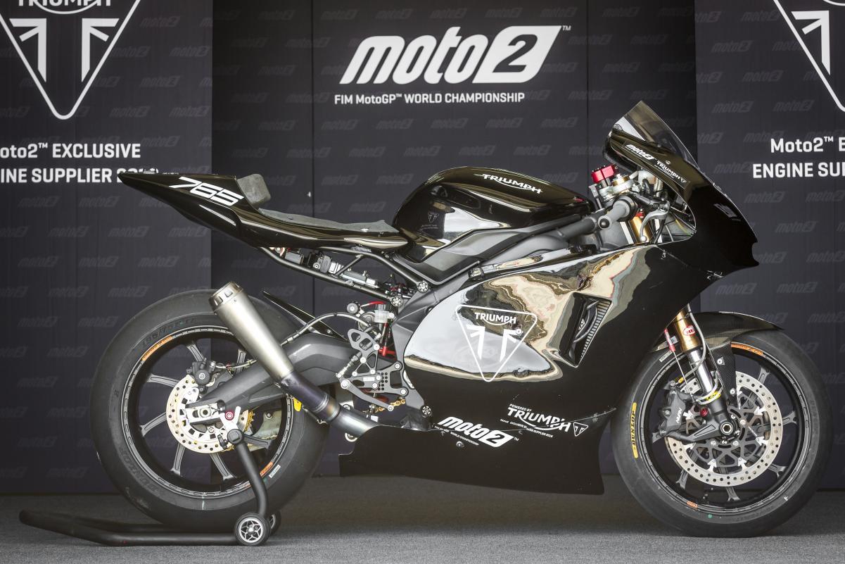 Mesin Triumph Menjadi Senjata Baru Balap Moto2 2019