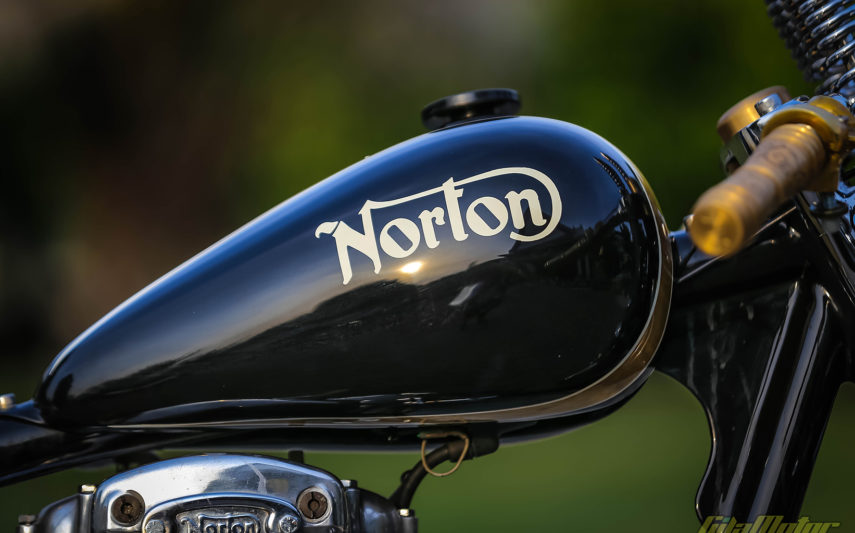 Norton Bobber Spring Legacy