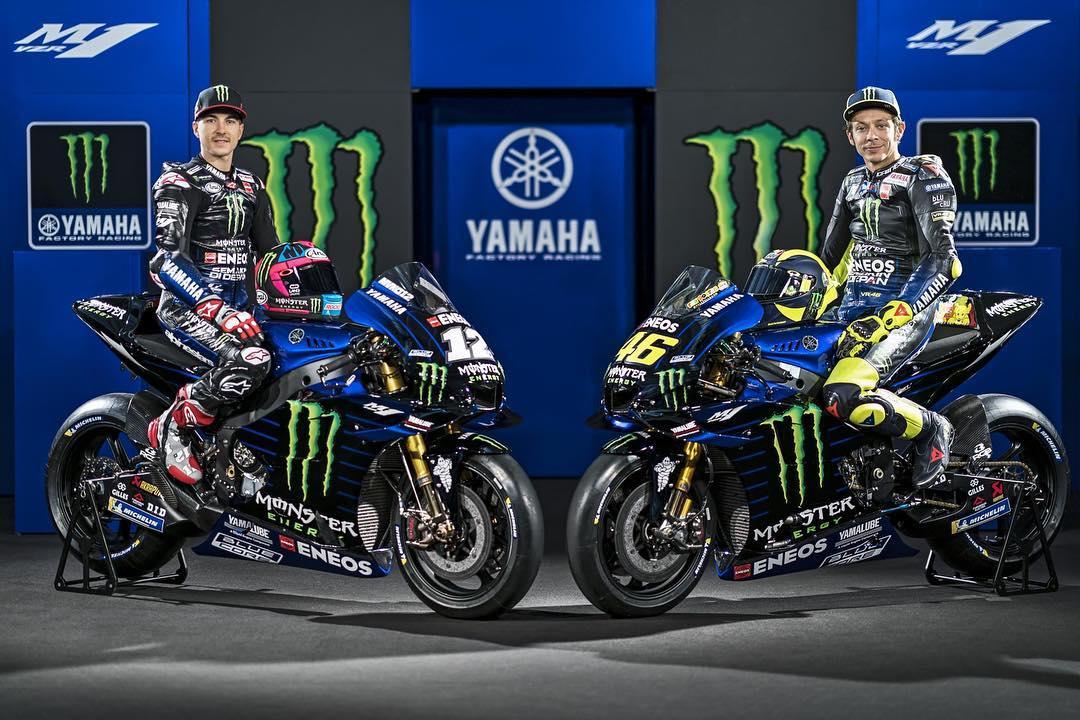 Yamaha MotoGP Team 2019 - Valentino Rossi, Maverick Vinales