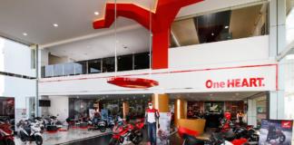 showroom dealer motor honda